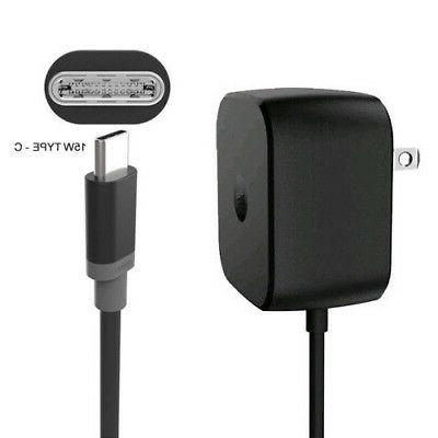 Motorola TurboPower 15W Rapid wall charger Type-C for