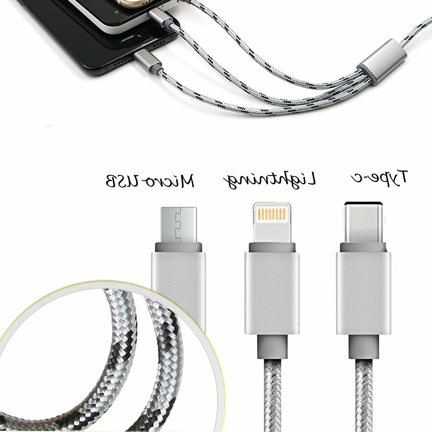 Universal 1 Multi-Function Charger Charging Cable For Phone
