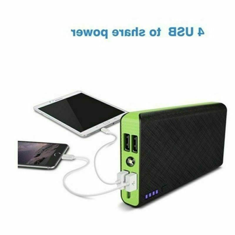 US Portable External Battery 900000mAh Huge
