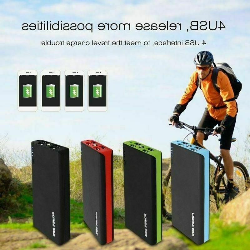 US Portable External Battery 900000mAh Capacity