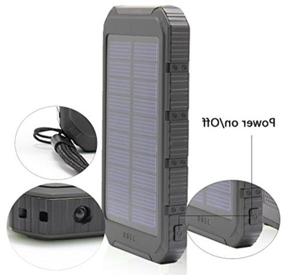 usa solar charger cell phone waterproof usb