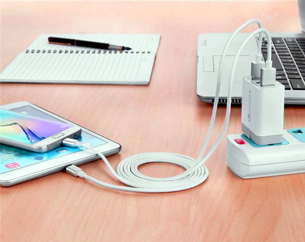 USB Fast Quick Charger Adapter or
