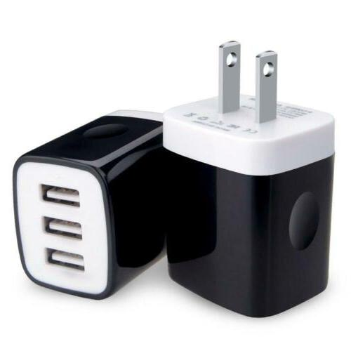 usb wall charger block 2 pack 3