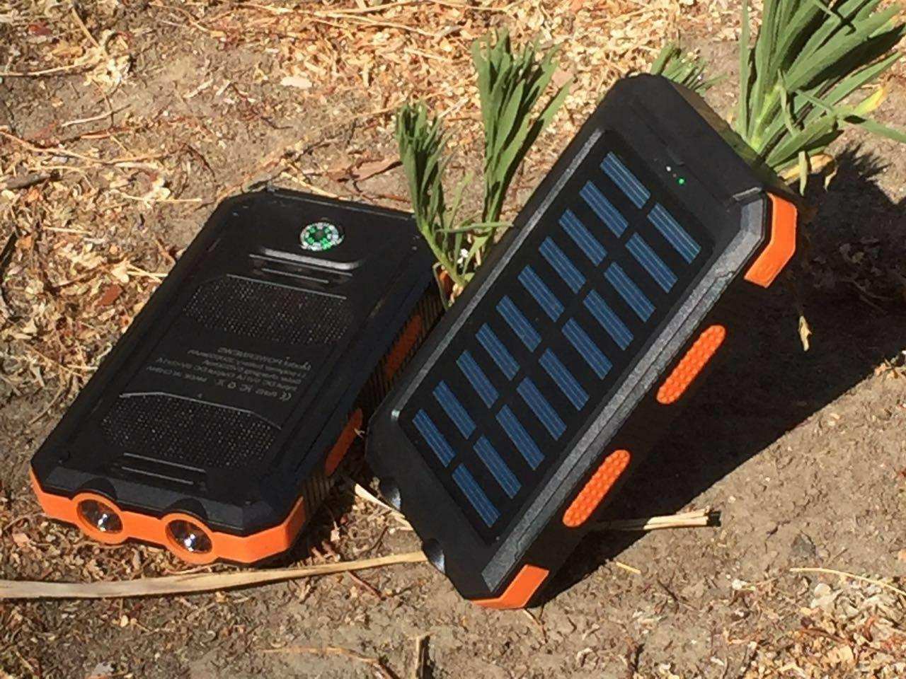 2020 Solar Power Bank Charger