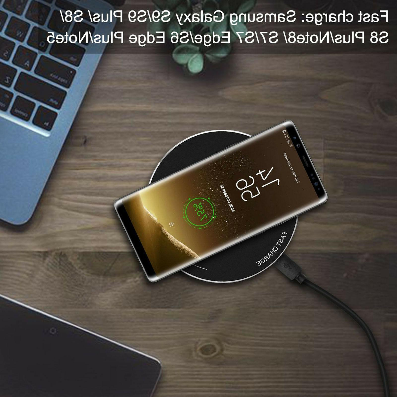 wireless charger qi charge 10w fast samsung