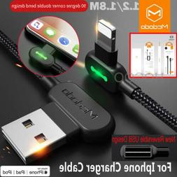 L Shape Fast Charging Mcdodo Lightning Charger  Reversible U