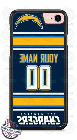 LA CHARGERS FOOTBALL PERSONALIZED PHONE CASE FITS iPHONE SAM