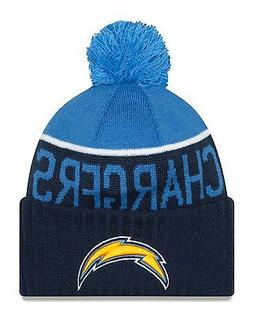 LA Chargers Players Sideline Sports Knit Beanie Cap Hat NFL