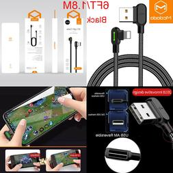 Mcdodo Lightning Bolt Smart Braided Fast Charging Cable Char