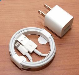 Lightning Cables & Wall Cubes Charger Cable for iPhone X,8,7