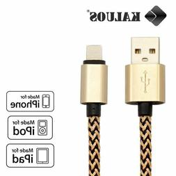 Long 3M 10FT Original Kaluos USB Charger Cable for Apple iPh
