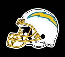 Los Angeles Chargers 2 PACK NFL Decal Sticker - You Choose S