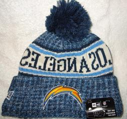 LOS ANGELES CHARGERS 2018 NEW ERA ON FIELD SPORT KNIT POM HA