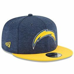 Los Angeles Chargers 2018 Sideline On Field 9FIFTY Navy/Yell
