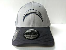 Los Angeles Chargers New Era 39Thirty Gray Neo Mesh Stretch