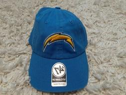 Los Angeles Chargers 47 Brand Embroidered Bolt Logo StrapBac