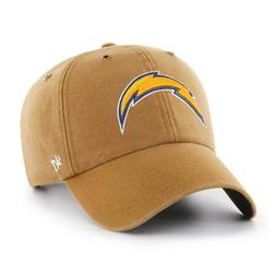 Los Angeles Chargers '47 Carhartt Mens Brown Clean Up Adjust