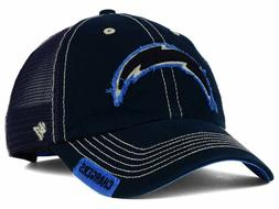 Los Angeles Chargers '47 NFL Turner Mesh '47 CLEAN UP Cap On