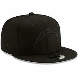 New Era Los Angeles Chargers Hat NFL Black on Black 9FIFTY S