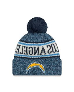 New Era Los Angeles Chargers NFL On Field 18 Sport Knit Bean