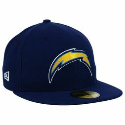 Los Angeles Chargers New Era NFL On Field Navy Blue Fitted F