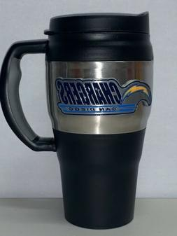 Los Angeles Chargers NFL Stainless Steel Travel Mug 20 oz