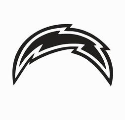 Los Angeles LA Chargers Football Vinyl Die Cut Car Decal Sti