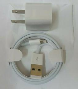 Lot of 10 USB Wall Chargers AND Lightning Cables for Apple i