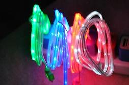 LOT ROPE LIGHT LED 3ft data sync charger power cables FOR iP
