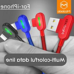 mcdodo 90degree usb cable charger for iphone