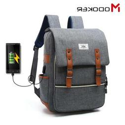 Men's Business Travel Backpack With USB Charger