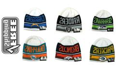 Men's NFL Snow Top Beanie Knit  One Size Fits Most