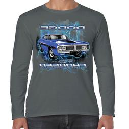 Mens Dodge Charger RT Long Sleeve T-Shirt Classic American M