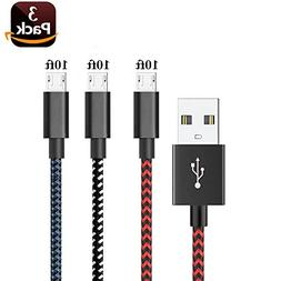 AOSOK Micro USB Cable,   Android Charger Cable / Fast Charg