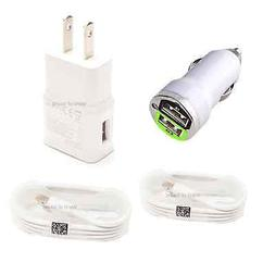 Micro USB Wall + Car Charger Data Sync Cable for Android Pho