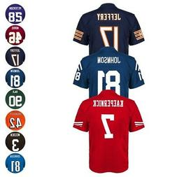 NFL Mid Tier Home Away Team Player Official Jersey Collectio