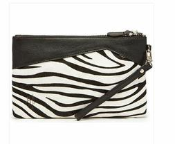 Mighty Purse Charge on the Go Phone Charger Zebra Wristlet