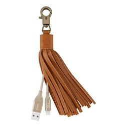 Belkin MIXIT Lightning to USB Leather Tassel with 7-Inch 2.4