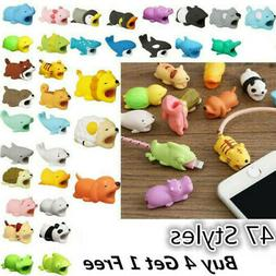 New Cartoon Animal Cable Bite Cute Phone Charger Protector S