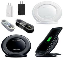 NEW Fast Qi Wireless Charger Stand Dock Pad For Samsung Gala