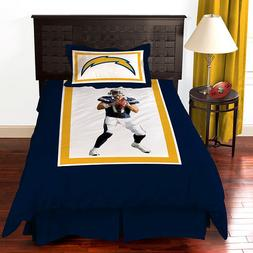 New Biggshots San Diego Chargers Philip Rivers Comforter BED
