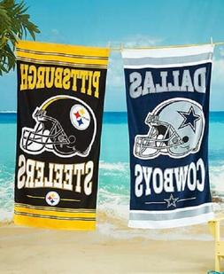 "NFL Beach Towel 100% Cotton 30"" by 60"" by WinCraft -Select-"