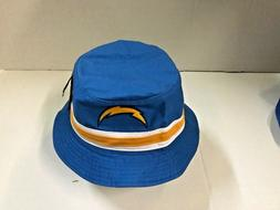 NFL CHARGERS STRIPED BUCKET HAT ONE SIZE MOST 47 BRAND
