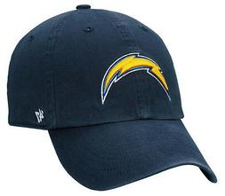 NFL Los Angeles Chargers 47 Brand Adult Navy Clean Up Adjust