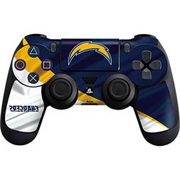 Skinit Los Angeles Chargers PS4 Controller Skin - Officially