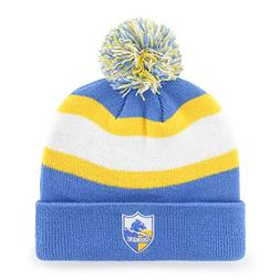 OTS NFL Los Angeles Chargers Rush Down Cuff Knit Cap with Po