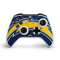 Skinit Los Angeles Chargers Large Logo Xbox One S Controller