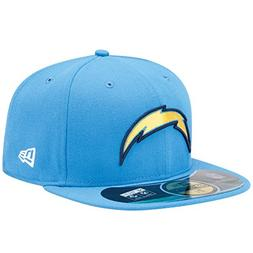 NFL San Diego Chargers On Field 5950 Powder Cap, 7 3/8