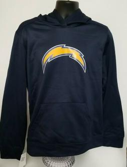 NFL Team Apparel Chargers Men's Long Sleeve Pullover Hoodie