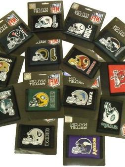 NFL Trifold Nylon Wallets Official Licensed  Wallet All Team